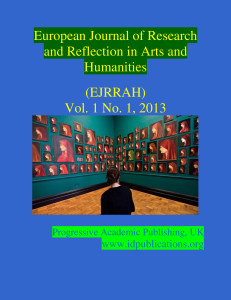 Journal Of Arts And Humanities Impact Factor