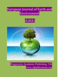 Cover Page, European Journal of Earth and environment-page-001